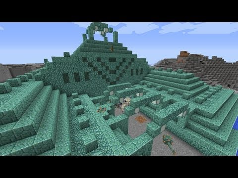 Minecraft Ocean Monuments / Water Temple