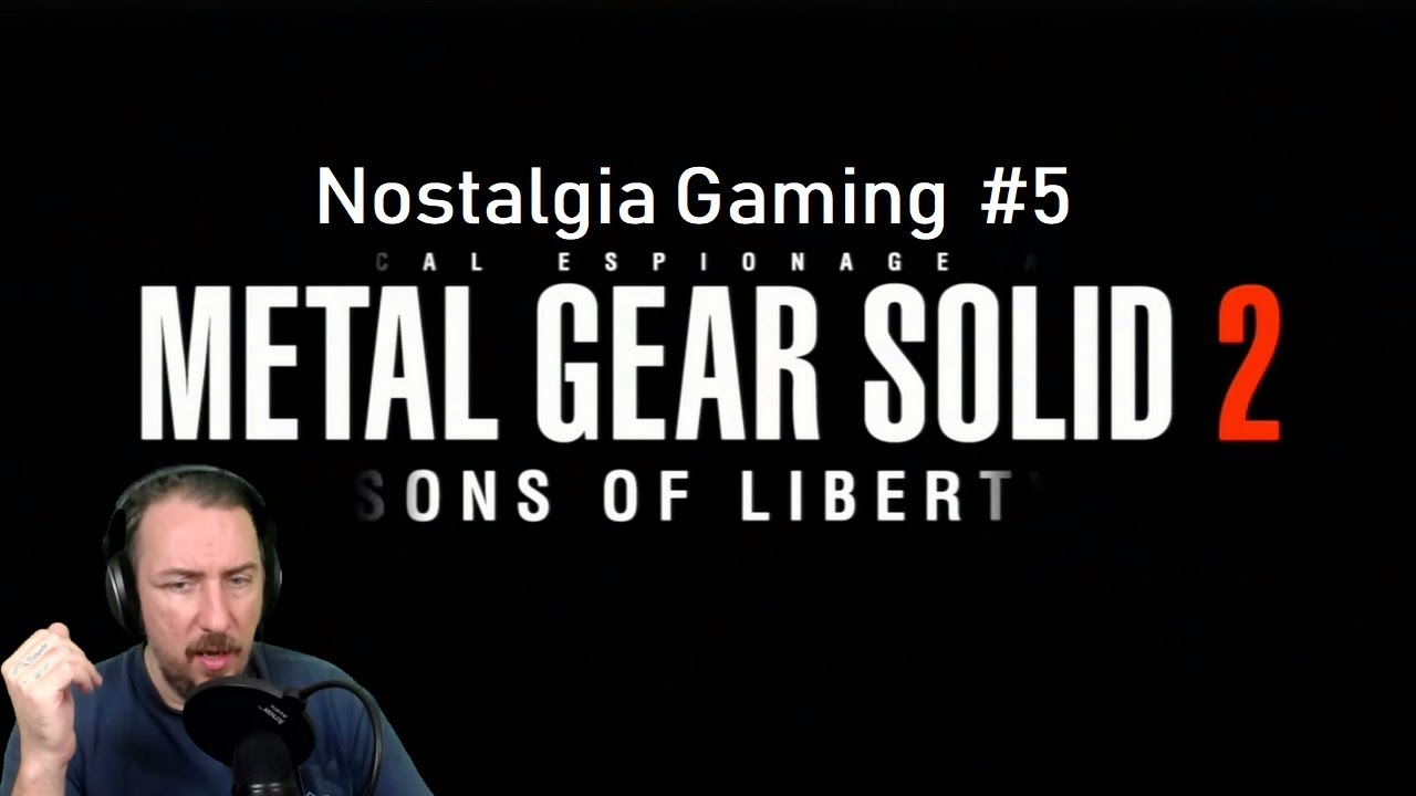 Download METAL GEAR SOLID 2  : SONS of LIBERTY | Nostalgia Gaming #5