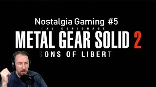 METAL GEAR SOLID 2  : SONS of LIBERTY | Nostalgia Gaming #5