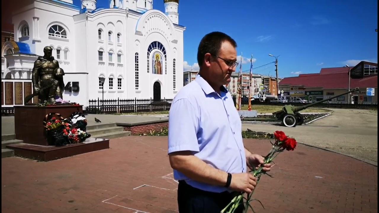 22 июня 2021 года на памятнике в Краснослободске