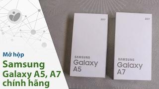Tinhte.vn | Mở hộp Samsung Galaxy A5, A7 2017 chính hãng