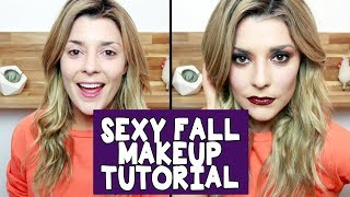 SEXY FALL MAKEUP TUTORIAL // Grace Helbig