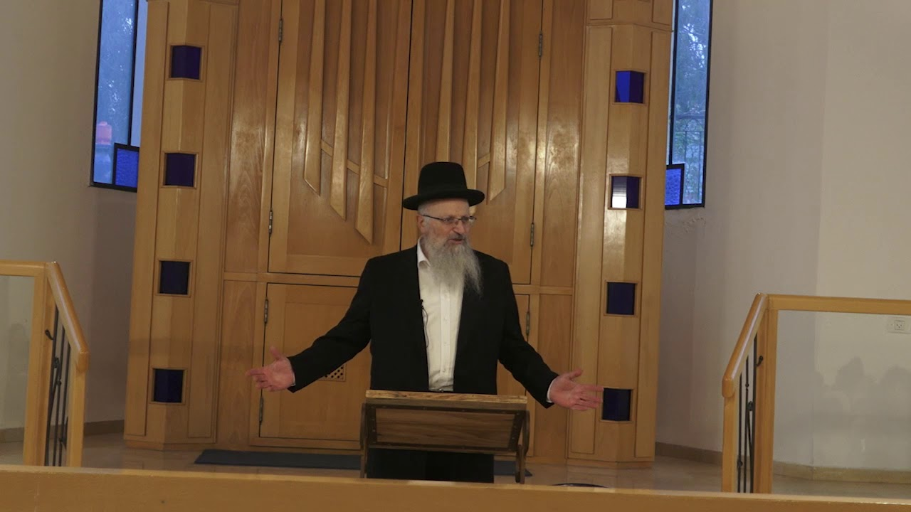 הרב שמואל אליהו | שיחה לתלמידות אולפנות בני עקיבא | מסע בעקבות הרב קוק|ראש פינה בית כנסת אלי כהן