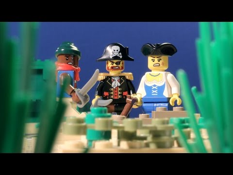 Backstabbers - LEGO Pirate Animation
