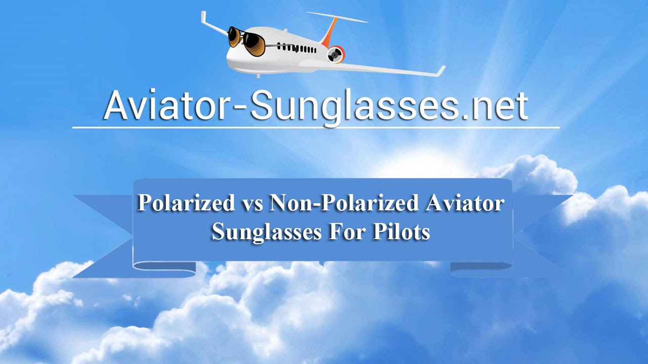 Polarized vs Non Polarized Sunglasses - YouTube
