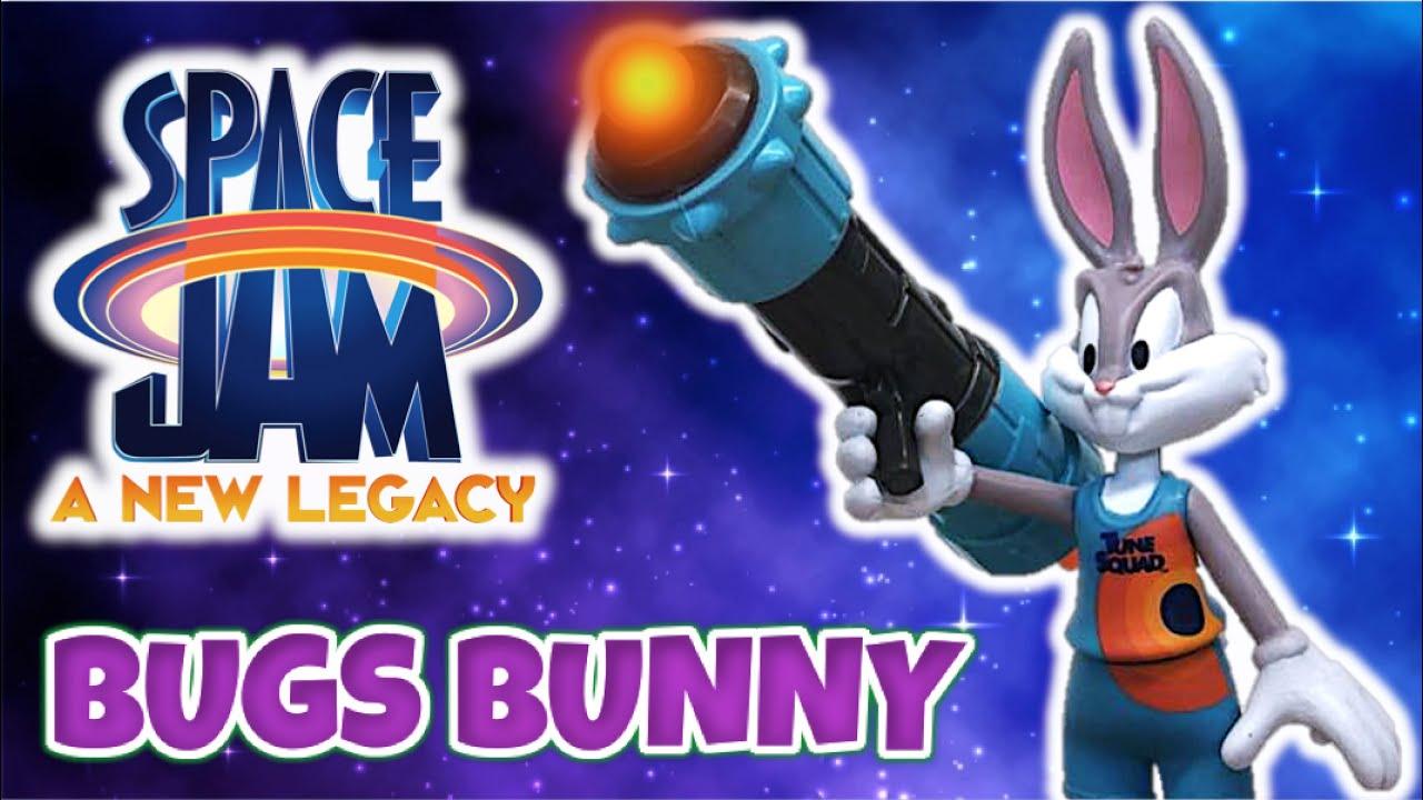 Space Jam 2 - BUGS BUNNY con Acme Blaster 3000 | Reseña de Figura Moose 2021- TOY SHOTS