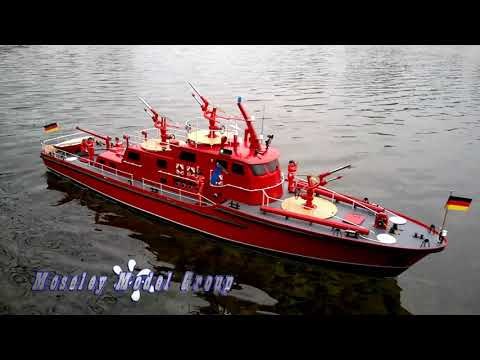 """ROBBE """"DUSSELDORF"""" FIRE BOAT v1"""