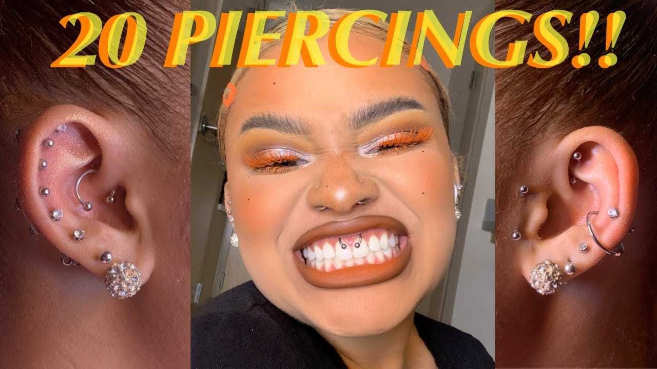 Download 20 PIERCING TOUR (Daith, Conch, Rook, Smiley, Nose + More) | RaggedyRoyal