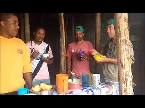 Café da manhã reforçado dos pedreiros
