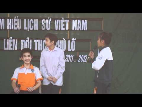 Màn chào hỏi - Chi đội 8A1 - THCS Phù Lỗ 26/03/2012