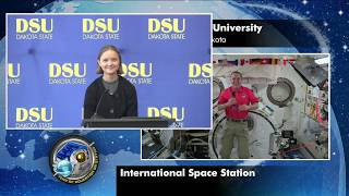Expedition 56 Inflight Interview with Dakota State University - August 27, 2018