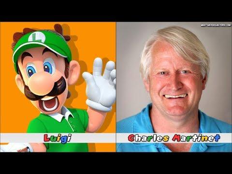 Mario Tennis Aces Characters Voice Actors
