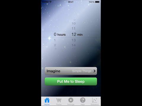 MySleepButton Lulls You to Sleep Using Cognitive Science