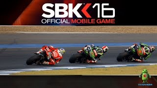 SBK 16 Official SKB 2016 Mobile Game (iOS / Android) Gameplay HD