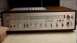 Yamaha CR 1020 Receiver  Demo