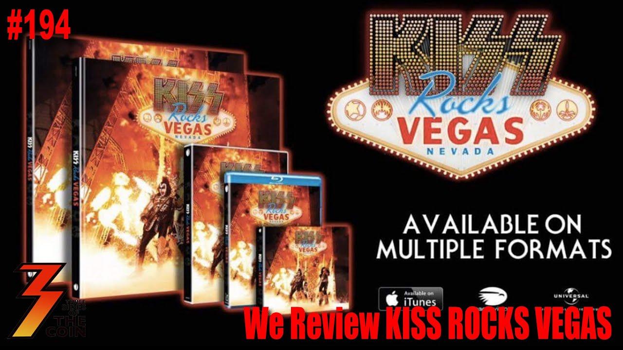 Ep 194 KISS ROCKS VEGAS DVD CD Our Full Review YouTube