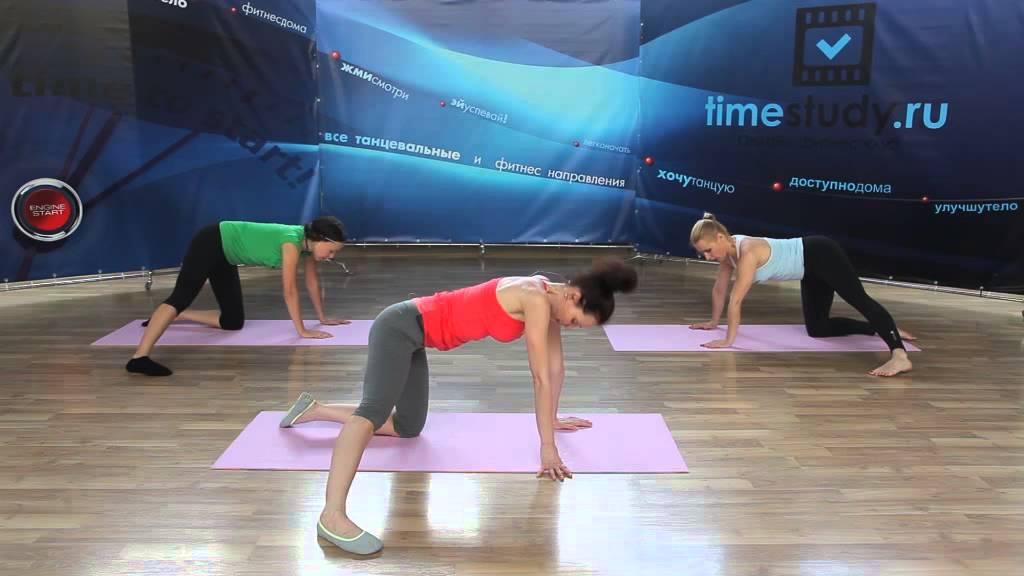 Упражнения для похудения рук и живота