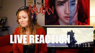 MULAN MADE ME CRY! Mulan official trailer 2020 reaction