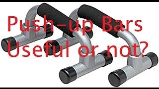 Pushup bars... Useful?