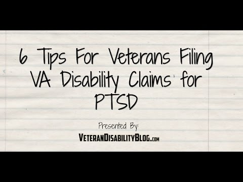 6 Tips For Veterans Filing Claims For PTSD