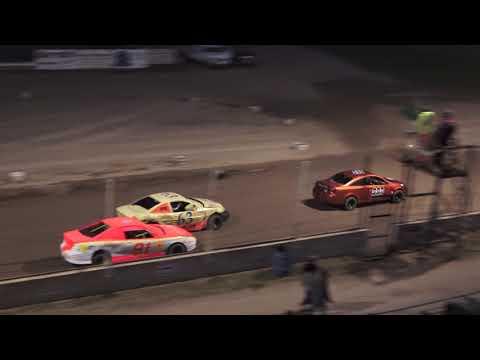 Flinn Stock Heat Race #2 at Crystal Motor Speedway, Michigan on 08-31-2019!