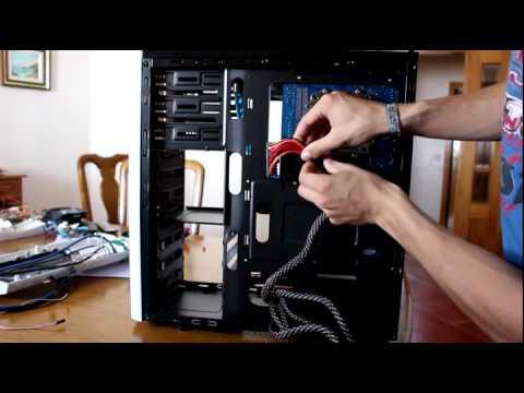 """Projeto """"Blue Talius"""" PC Modding by Bruno César"""