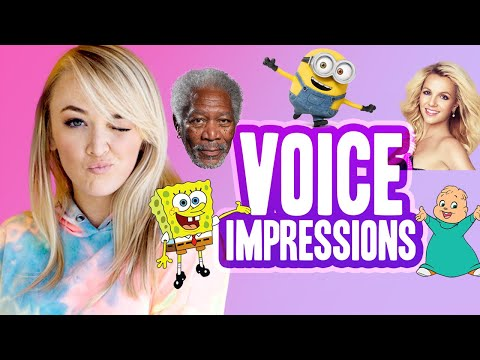 NEW VOICE IMPRESSIONS Morgan Freeman, Minions & more!