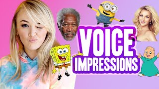 NEW VOICE IMPRESSIONS (Morgan Freeman, Minions & more!)