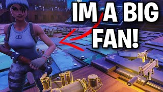 one of my FANS tries to SCAM me! 😭😞 (Scammer Get Scammed) Fortnite Save The World