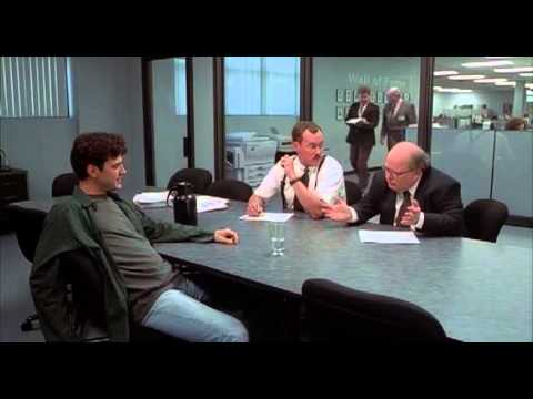 Office space meeting with the bobs youtube for Office space pics