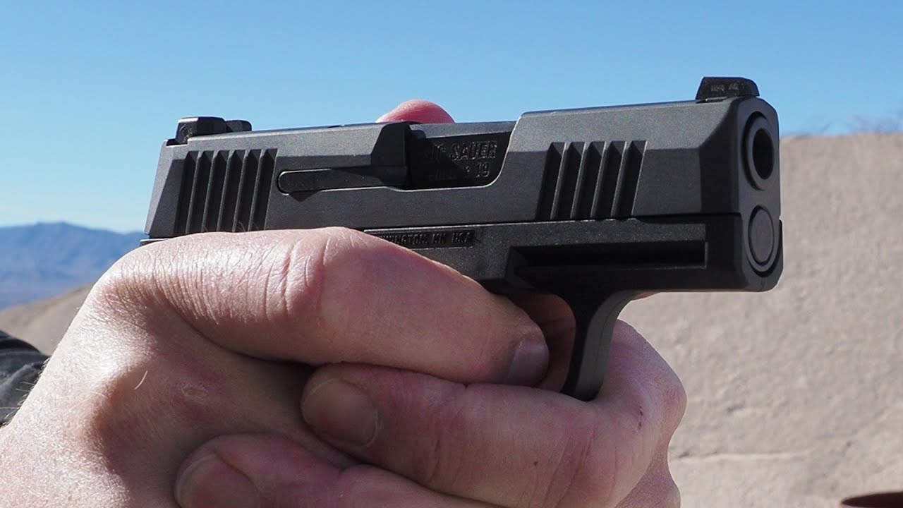 A Deeper Look At The SIG P365 - Phil Strader - SHOT Show 2018