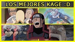 Los 5 MEJORES KAGES de todo BORUTO y NARUTO