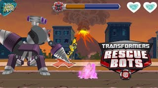 MORBOT KING VS BUMBLEBEE!   Transformers Rescue Bots: Disaster Dash Hero Run #127 By Budge