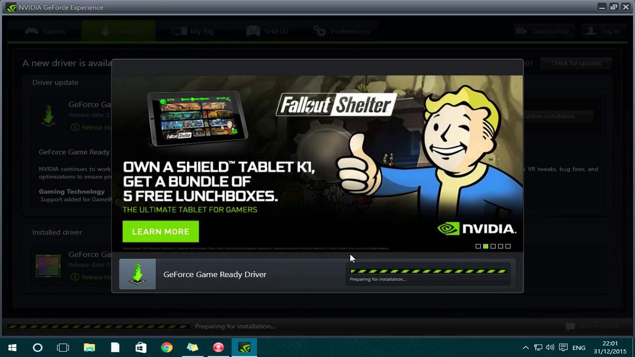 Put Old Nvidia Drivers On Windows 10