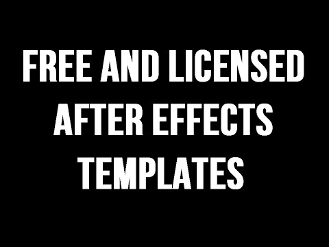 How To Get Free And Licensed After Effects Templates From VideoHive