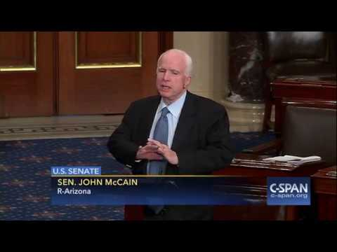 "Sen McCain on Sen. Paul: ""The Senator from Kentucky is now working for Vladimir Putin."" (C-SPAN)"