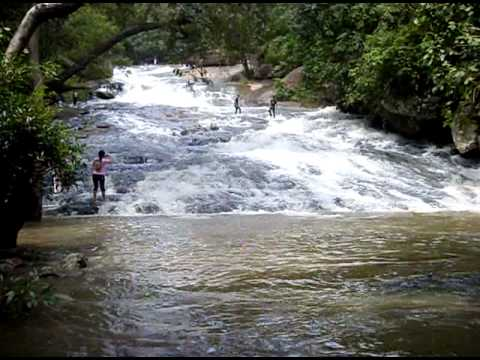 Chaiyaphum province tatfa waterfall Chaiyaphum