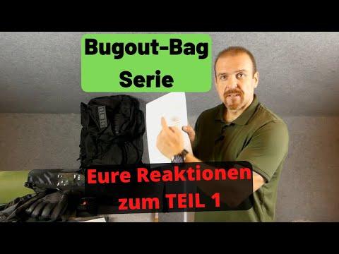 Bugout Bag Serie - Eure Reaktionen zum TEIL1? ????????