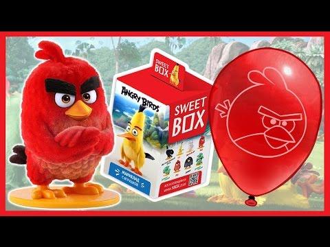 Энгри бердз. СВИТ БОКС. Angry Birds в кино. Sweet Box. Киндер Сюрприз. Kinder Surprise.
