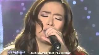 Angeline Quinto sings 'What Kind Of Fool Am I' on ASAP