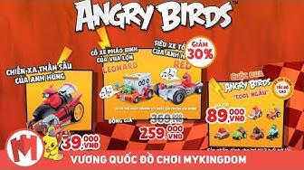 QUẢNG CÁO XE CƠ GIỚI PHÁT NHẠC ANGRY BIRDS KHUYẾN MÃI TRUNG THU 30%