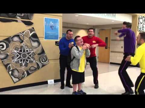 Metea Valley High School Staff Perform Wiggles for Student