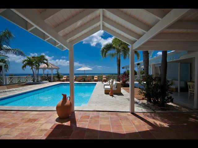 Homes for sale St Martin, Luxury Hillside Villa Jacaranda