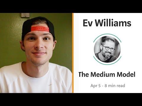 Ev Williams' Grand Vision For Medium (April, 2018)