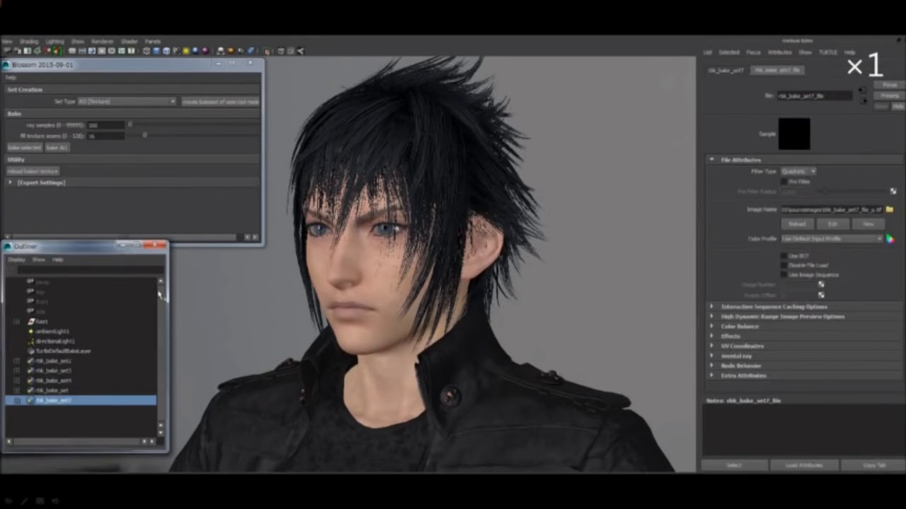 Download Final Fantasy XV Graphics and Technology: Ambient Occlusion (CEDEC 2016)