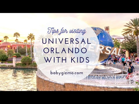 Tips for Visiting Universal Orlando with Young Kids
