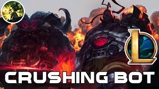 8.11 Banner of Command Sion Ornn Bot (we did it before tilterella) League Of Legends