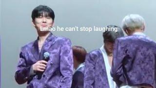 MONSTA X 몬스타엑스 'Find You' Monsta X react to Wonho's part 191110