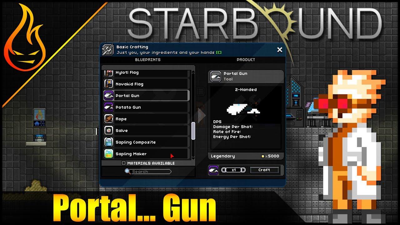 Starbound Portal Gun Mod Spotlight