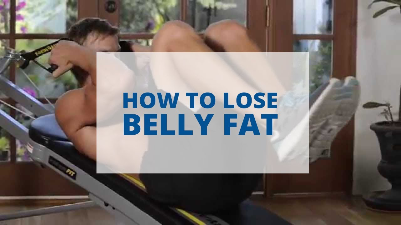 How to lose belly fat total gym pulse youtube